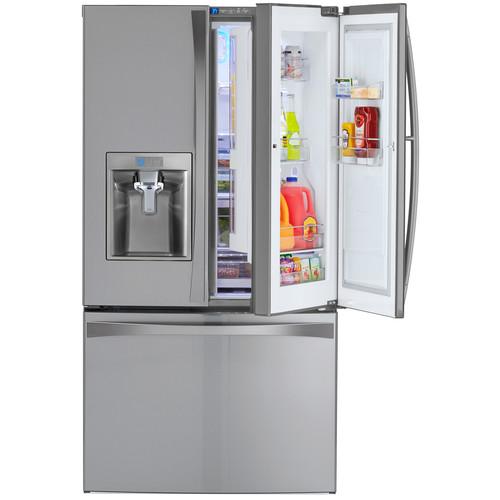 Kenmore Elite 73165 28.5 cu. ft. French Door Bottom Freezer Refrigerator w/ Grab-N-Go Door - Fingerprint Resistant Stainless Steel
