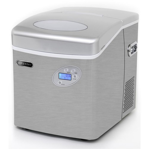 Whynter IMC-490SS 49-lb. Capacity Portable Ice Maker - Stainless Steel