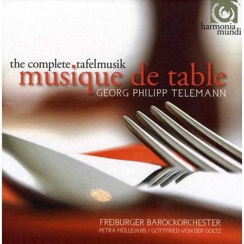 Georg Philipp Telemann: Musique de Table [CD]