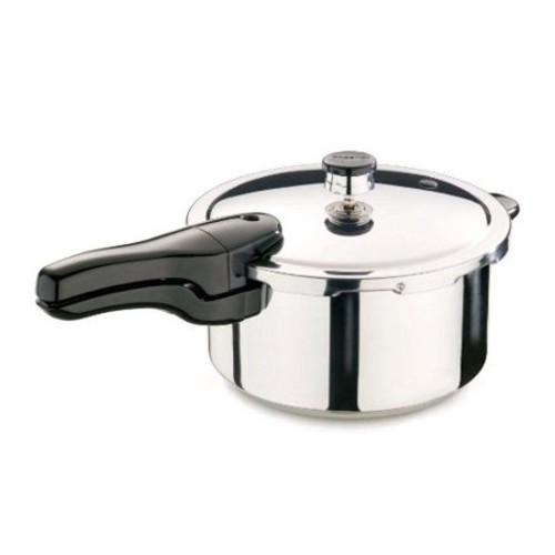 Presto 4 qt. Pressure Cooker Polished Stainless Steel(01341)