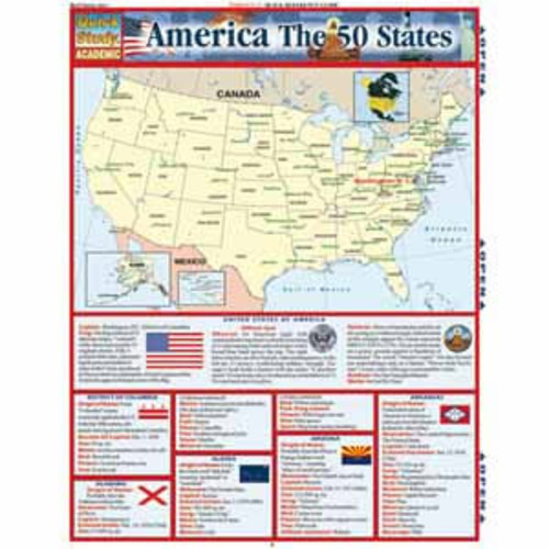BarCharts America The 50 States Study Guide