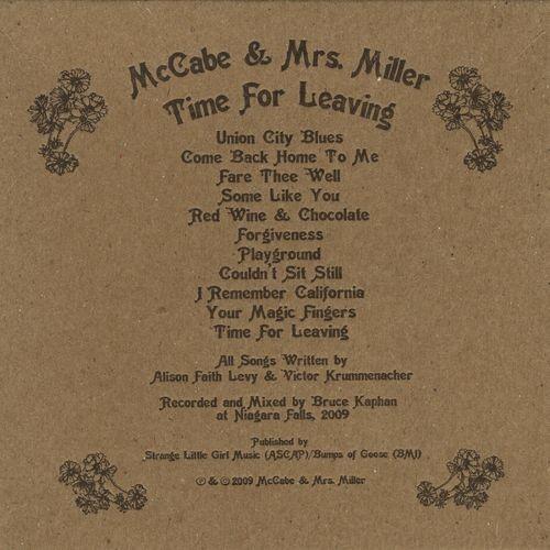 Time for Leaving [CD]