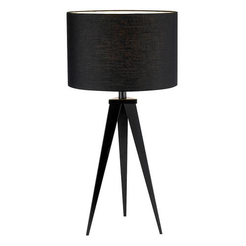 Adesso Director 28 in. Black Table Lamp
