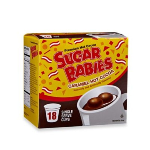 18-Count Sugar Babies Caramel Hot Cocoa for Single Serve Coffee Makers