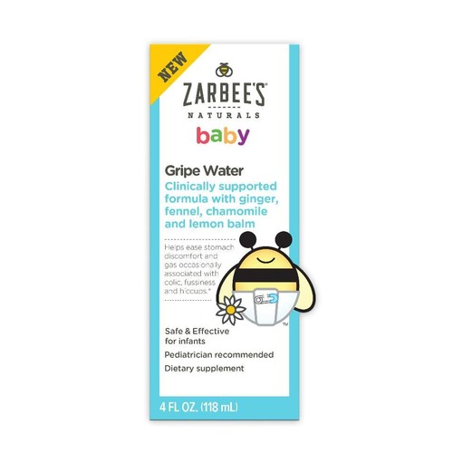 Zarbees Naturals Baby Gripe Water - 4 Ounce