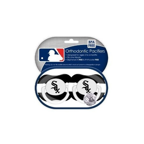 Chicago White Sox Pacifiers 2 Pack Safe Bpa Free