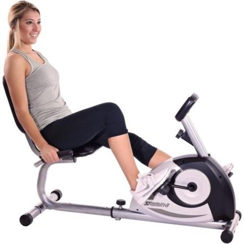 Stamina Magnetic Recumbent Exercise Bike