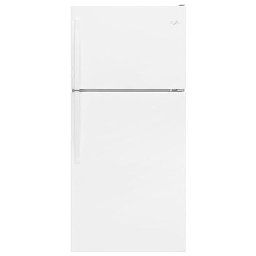 Whirlpool - 18.2 Cu. Ft. Top-Freezer Refrigerator - White