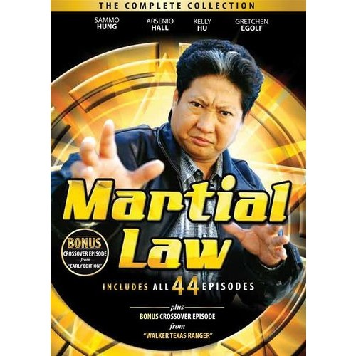 Martial Law: The Complete Collection [10 Discs] [DVD]