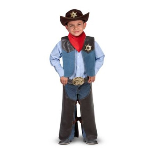 Melissa & Doug Role Play Cowboy Costume Set