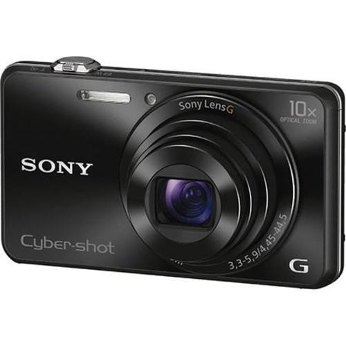 Sony Cyber-Shot DSC-WX220 Digital Camera, Black DSC-WX220/B