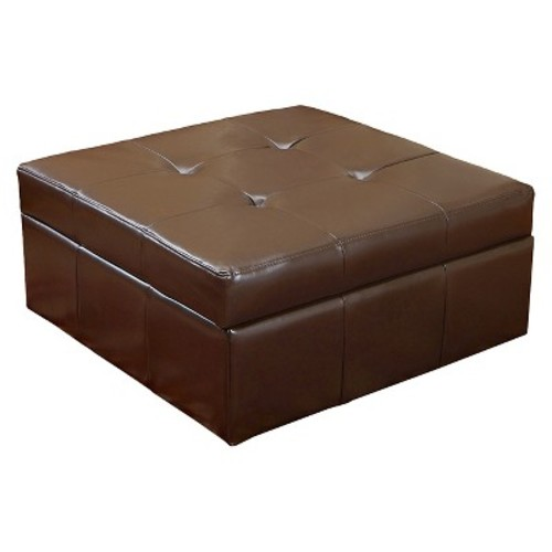 Chatsworth Fabric Storage Ottoman - Christopher Knight Home