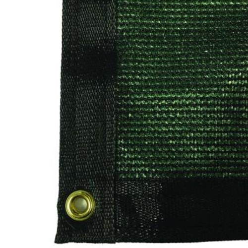 RSI 5.8 ft. x 10 ft. Green 88% Shade Protection Knitted Privacy Cloth