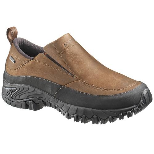 MERRELL Men's Shiver Moc 2 WP Shoes, Dark Earth