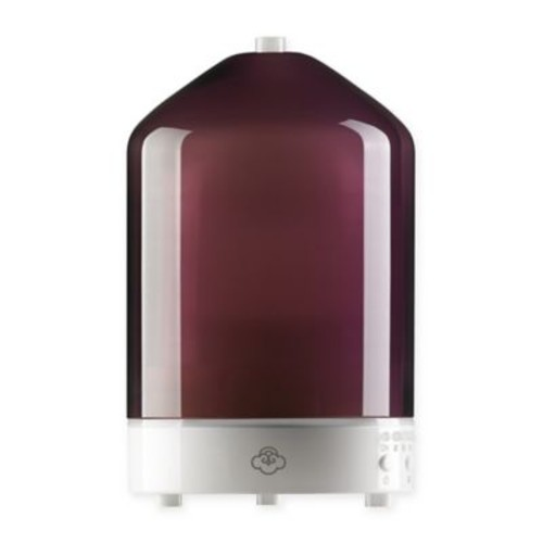 Serene House Nebula Electric Ultrasonic Aromatherapy Diffuser in Purple/White