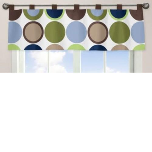 Sweet Jojo Designs Designer Dot Window Valance