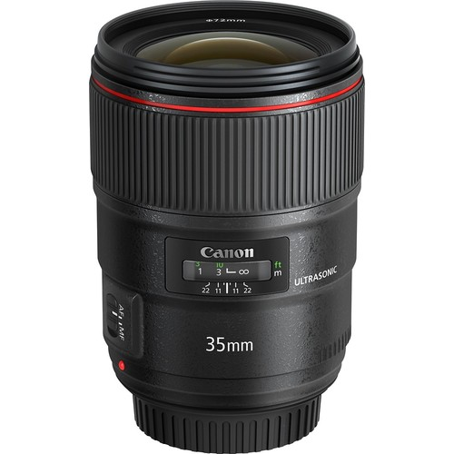 Canon EF 35mm f/1.4L USM Wide Angle Lens for Canon SLR Cameras - Fixed [Standard Packaging]