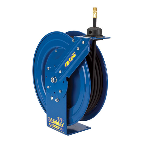 Coxreels Heavy-Duty Medium & High-Pressure Safety Hose Reel  4000 PSI, 3/8in. x 25ft. Hose, Model# EZ-PHP-325