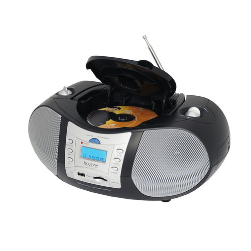 Boytone 97097166M Portable Music System with CD Player and USB/SD/MMC Slot