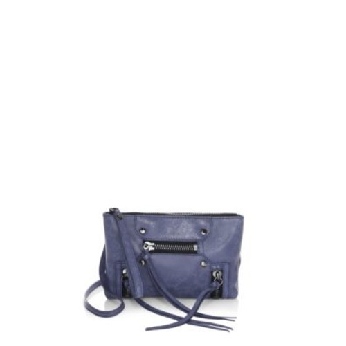 Logan Leather Convertible Clutch