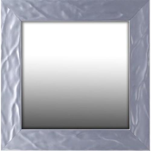 Orren Ellis Wave Square Accent Mirror; 18.75'' H x 18.75'' W x 1.75'' D