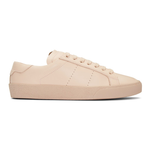 SAINT LAURENT Pink Court Classic Sl/06 Sneakers