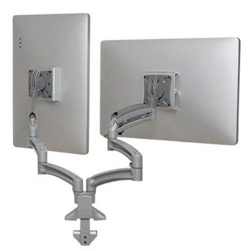 Chief K1D230S Kontour K1D Dual Monitor Dynamic Desk Mount-Silver K1D230S
