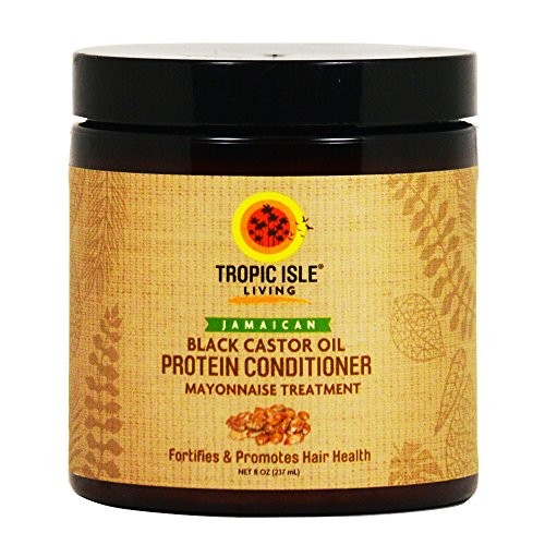 Tropic Isle Living Jamaican Black Castor Oil Protein Conditioner 8oz [8oz]