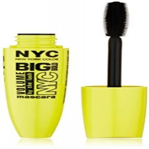 N.Y.C. New York Color Big Bold Volume By the Lash, Black, 0.41 Fluid Ounce