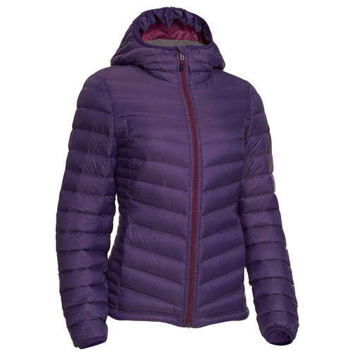 EMS Womens Feather Pack Hooded Jacket