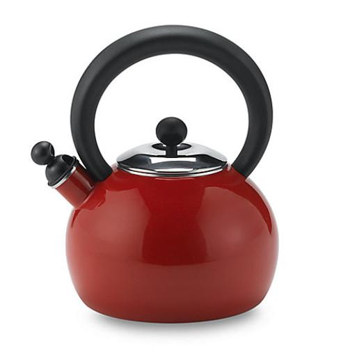 Copco Bella 2-Quart Tea Kettle in Red