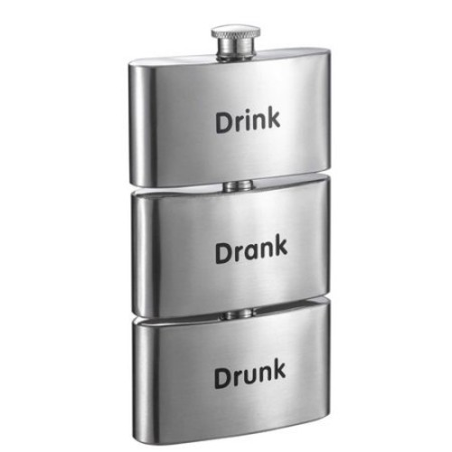 Visol Products Tenses Printed Three-In-One Flask Tower