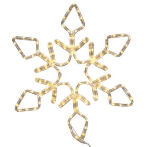 Vickerman Snowflake 416 Light LED Novelty Light