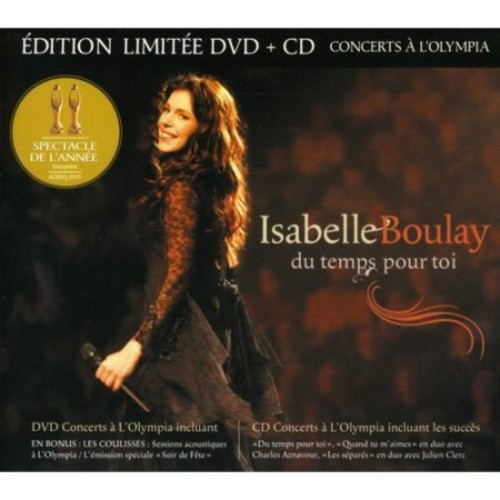 Du Temps Toi Live a l'Olympia de Paris [CD]
