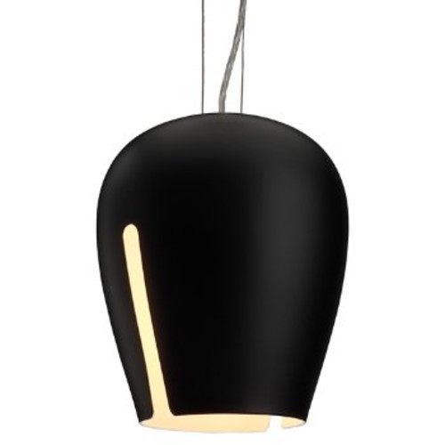 Zita Pendant [Finish : Black / White; Light Option : Incandescent]