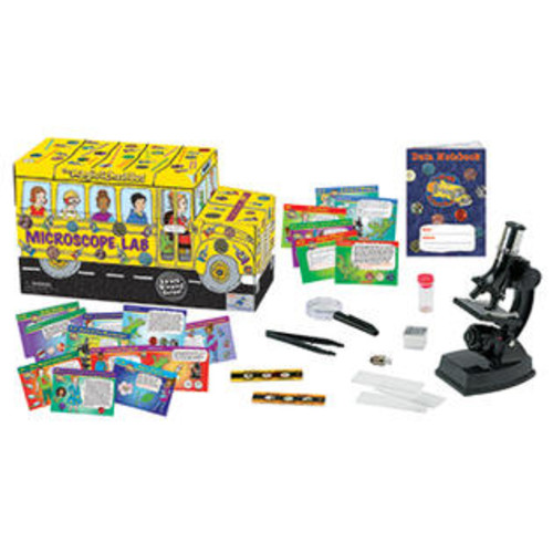 The Young Scientists Club THE MAGIC SCHOOL BUS MICROSCOPE LAB