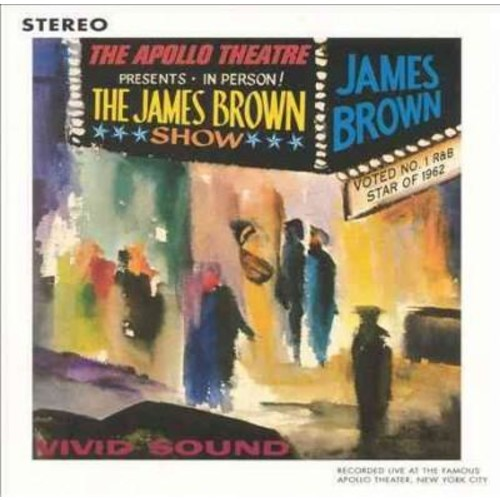 James Brown - Live At The Apollo 1962