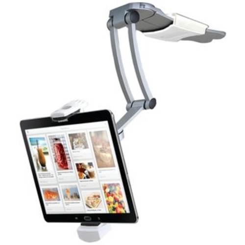 CTA Digital PAD-WBS Wall Mount Bathroom Stand for iPad and Tablets with Paper Holder