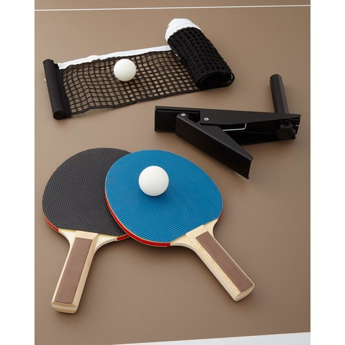 Chester Pool Table with Table Tennis Conversion Set