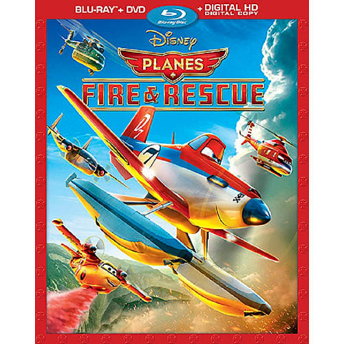 Planes: Fire and Rescue Combo Pack (Blu-Ray/DVD/Digital HD)