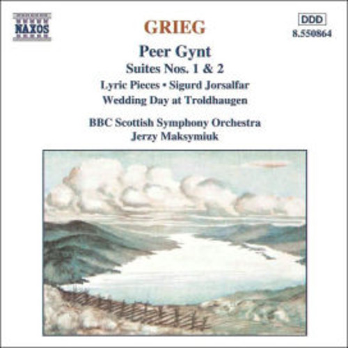 Grieg: Peer Gynt Suites Nos. 1 & 2; Lyric Pieces; Sigurd Jorsalfar; Wedding Day at Troldhaugen