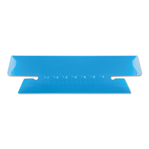 Pendaflex Hanging File Folder Tabs 1/3 Tab 3 1/2 Inch Blue Tab/White Insert 25/Pack