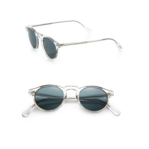 Gregory Peck 47MM Acetate Sunglasses
