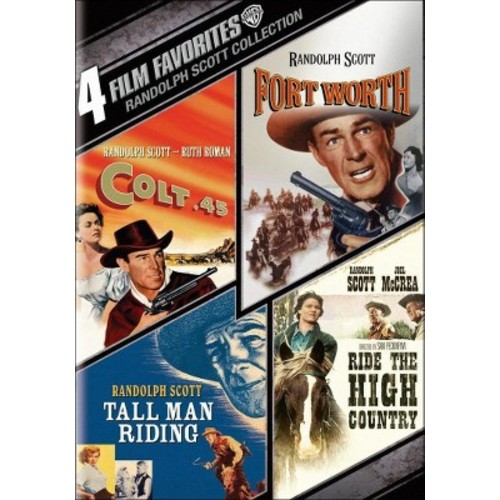 Randolph Scott Collection: 4 Film Favorites (2 Discs) (dvd_video)