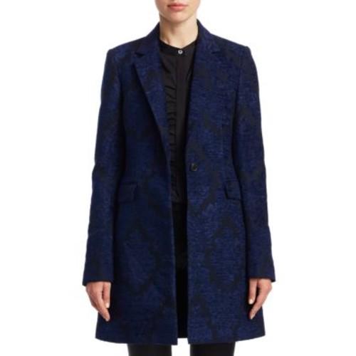 Genette Loire Jacquard Overcoat