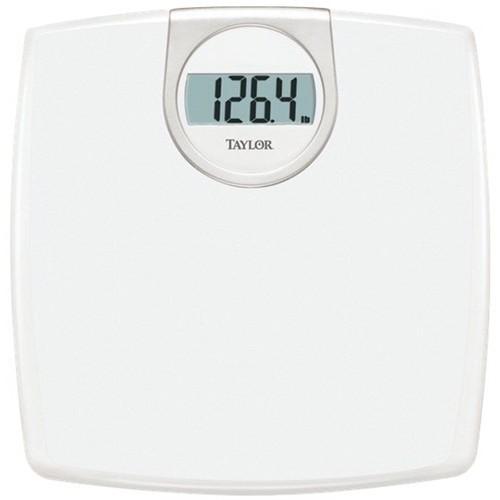 Taylor - Digital Bathroom Scale - White