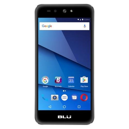 BLU Grand X LTE G0010WW Unlocked GSM Dual-SIM Phone w/ 8MP Camera - Black