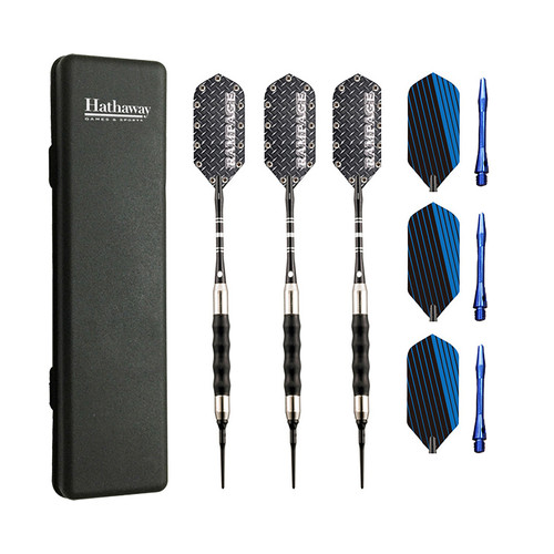 Hathaway Rampage Sure Grip Soft Tip Darts - Set of 3