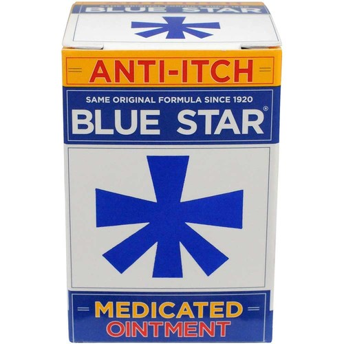 Blue Star Ointment, with Soothing Aloe, 2 oz