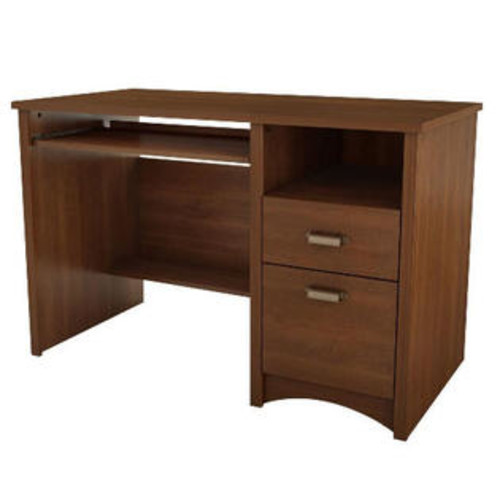 South Shore 7356070 Gascony Small Desk - Sumptuous Cherry